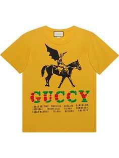 Gucci футболка оверсайз Winged Jockey