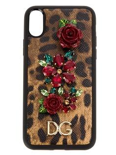 Dolce & Gabbana декорированный чехол для iPhone X