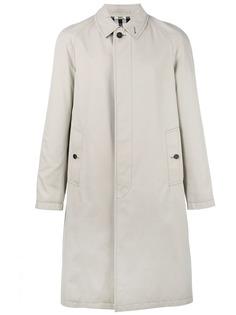 Burberry габардиновое пальто