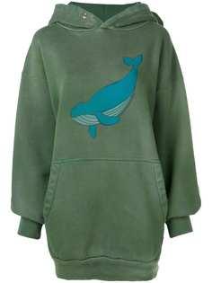 Balenciaga худи с изображением кита