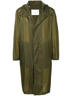 Mackintosh пальто свободного кроя GM-139 с капюшоном