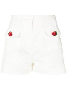 Dolce & Gabbana жаккардовые шорты с цветочным декором