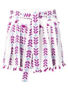 Dodo Bar Or плиссированная юбка с вышивкой