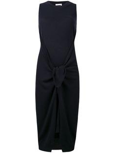 See By Chloé платье с разрезом спереди