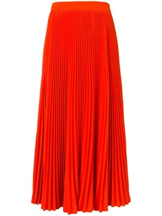 MSGM длинная плиссированная юбка