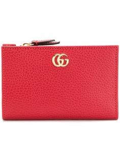 Gucci кошелек GG Marmont на молнии