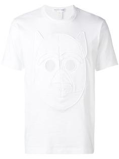 Comme Des Garçons Shirt футболка с отделкой в виде собаки