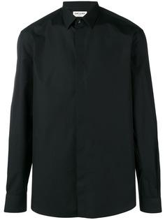 Saint Laurent рубашка с заостренным воротником