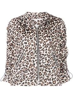 Veronica Beard куртка с леопардовым принтом