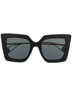 Gucci Eyewear солнцезащитные очки в квадратной оправе