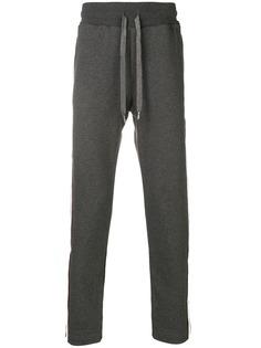 Dolce & Gabbana спортивные брюки с лампасами
