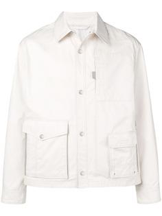 Lanvin куртка-рубашка с двумя карманами