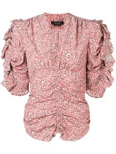 Isabel Marant блузка с оборками на рукавах