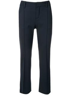Chloé укороченные брюки средней посадки