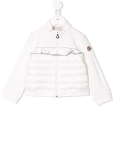 Moncler Kids спортивная куртка с оборкой