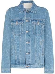 1017 ALYX 9SM джинсовая куртка с принтом логотипов