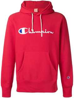 Champion худи с вышитым логотипом