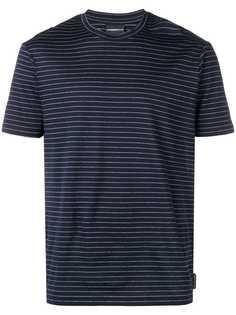 Emporio Armani футболка в полоску