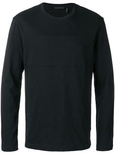 Helmut Lang футболка с длинными рукавами и логотипом
