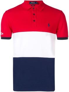 Polo Ralph Lauren рубашка-поло в стиле колор-блок
