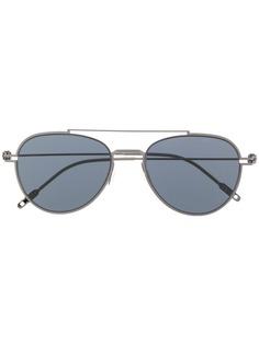 Montblanc солнцезащитные очки-авиаторы