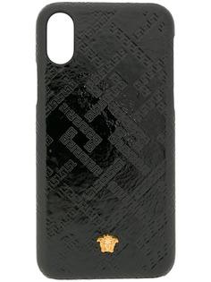 Versace чехол для iPhone 8 с декором Medusa