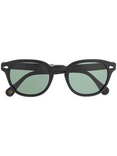 Moscot солнцезащитные очки в круглой оправе