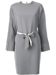 Emporio Armani платье на молнии с поясом