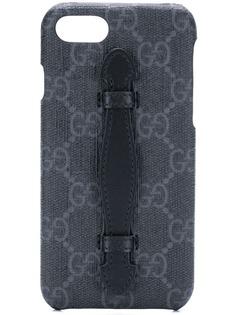 Gucci чехол для iPhone 8 с узором GG