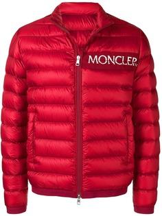 Moncler куртка-пуховик с логотипом