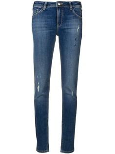 Emporio Armani джинсы скинни с заниженной талией