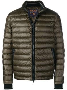 Woolrich стеганая куртка с высоким воротом