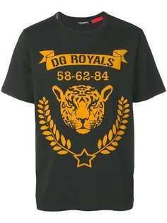 Dolce & Gabbana футболка с принтом DG Royals