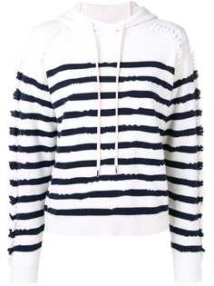 Barrie кашемировый свитер с капюшоном