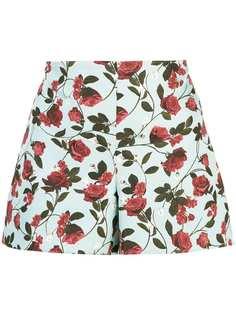 Alice+Olivia шорты Sherri с цветочным принтом