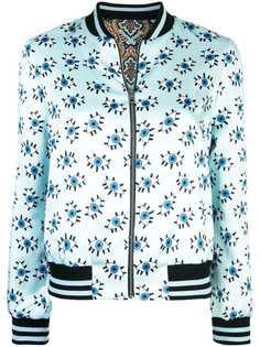 Alice+Olivia двусторонняя куртка-бомбер Lonnie