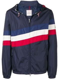 Moncler спортивная куртка с полосками