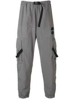 Off-White брюки свободного кроя