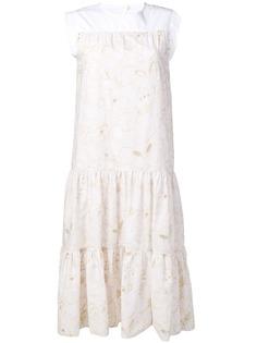 See By Chloé ярусное летнее платье