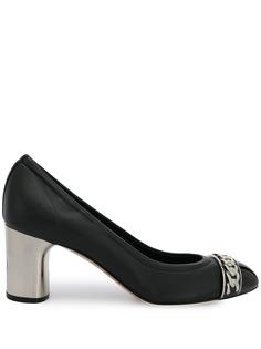 Casadei туфли-лодочки с цепочным декором