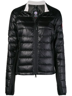 Canada Goose logo puffer jacket