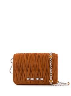 Miu Miu стеганая сумка через плечо
