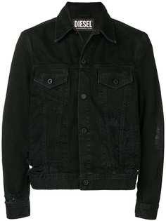 Diesel куртка с эффектом потертости