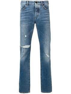 Saint Laurent джинсы кроя слим