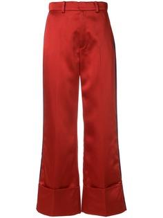 Tommy Hilfiger укороченные брюки с завышенной талией