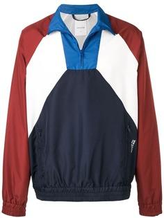 Wood Wood куртка-пуловер в стиле колор-блок