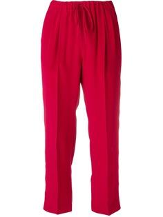Max Mara укороченные прямые брюки