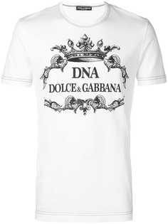 Dolce & Gabbana футболка DNA