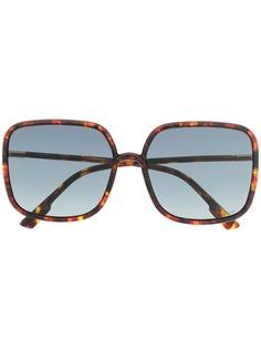 Dior Eyewear солнцезащитные очки в квадратной оправе Stellaire 01