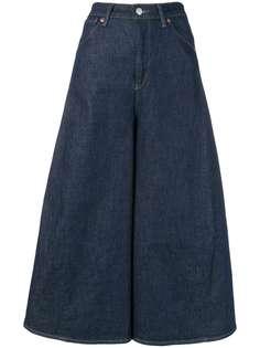 Levis укороченные широкие джинсы